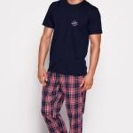 Pánské pyžamo 35412 blue