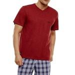 Pánské pyžamo 35711 red