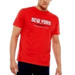 Pánské pyžamo 35734 red