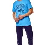 Pánské pyžamo 36204 Force 50x blue