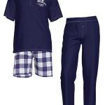 Pánské pyžamo 3pack – 3438 –  Vamp