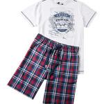 Pánské pyžamo 52202 – smetanová – Jockey
