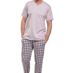 Pánské pyžamo Adam mocca