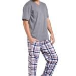 Pánské pyžamo Adam šedé