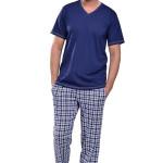 Pánské pyžamo Adam tmavě modré