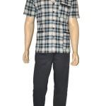 Pánské pyžamo Cornette 318/32 rozepínací
