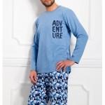 Pánské pyžamo dlouhé Damian 973 – Taro