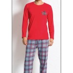 Pánské pyžamo dlouhé Denis 4169 – Gazzaz