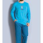 Pánské pyžamo dlouhé Letadlo