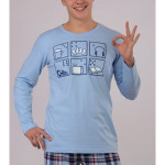 Pánské pyžamo dlouhé Předehra