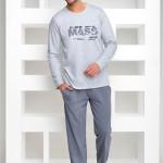 Pánské pyžamo Karol 1007 grey