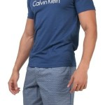 Pánské pyžamo KR/KN  NM1384E Calvin Klein