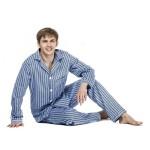 Pánské pyžamo Kuba Flanela nadměrná velikost 4XL-5XL