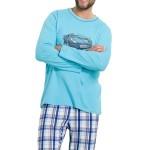 Pánské pyžamo Leon modré