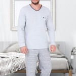Pánské pyžamo M-Max Alfred 656 dl/r M-2XL