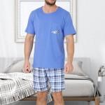 Pánské pyžamo M-Max Frank 607 kr/r M-2XL