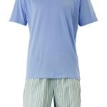 Pánské pyžamo M9470E  – modro-zelená –  Calvin Klein