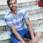 Pánské pyžamo MNS 308 A7 – KEY
