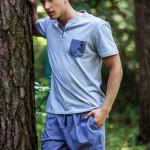 Pánské pyžamo MNS 367 A8 – KEY