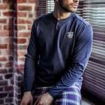 Pánské pyžamo MNS 447 B7 – KEY