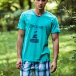 Pánské pyžamo MNS 448 A8 – KEY
