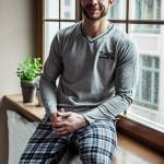 Pánské pyžamo MNS 456 – KEY