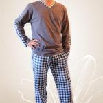 Pánské pyžamo Nelly Robin 1017 DL 3XL