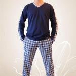 Pánské pyžamo Nelly Robin 1018 DL 3XL
