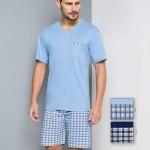 Pánské pyžamo Regina 522 kr/r 2XL