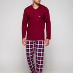 Pánské pyžamo Regina 528 dl/r 2XL
