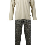 Pánské  pyžamo s dlouhým rukávem TASIM – Favab
