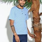 Pánské pyžamo s krátkým rukávem Taro Oskar 916