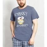 Pánské pyžamo šortky Stress