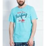 Pánské pyžamo šortky Surfing