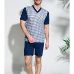 Pánské pyžamo Taro Roman 001 kr/r 2XL-3XL '18