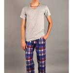 Pánské pyžamové kalhoty Leoš