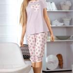 Rozkošné dámské pyžamo Babella 3055-1