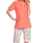 Těhotenské pyžamo Dn-nightwear PB.9040
