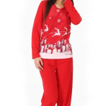 Vánoční Dámské pyžamo Viennetta Winter